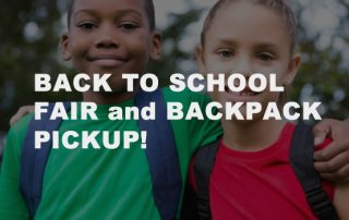 Back to School Fair and Backpack Pickup