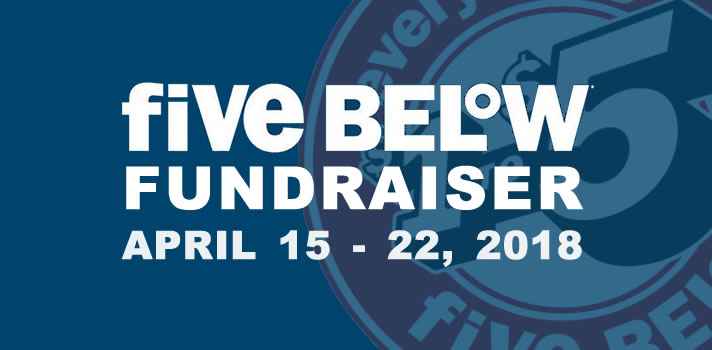 Fundraiser at Five Below