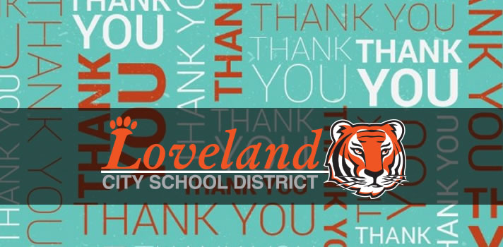 Thanks Loveland City Schools