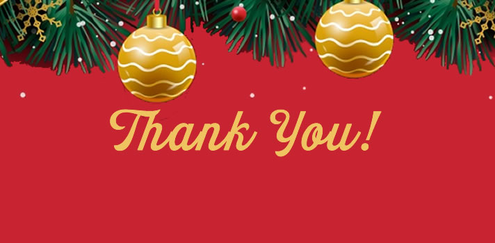 Thank You for Your Support of our 22nd Christmas Toy Store